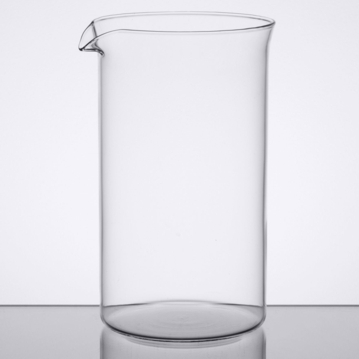 800ml Glass Replacement Cup for Coffee or Tea Press Sunnex 1 pcs