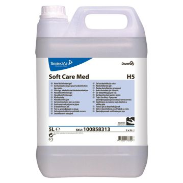 Desinfectante das mãos Soft Care Med H5 - 5L