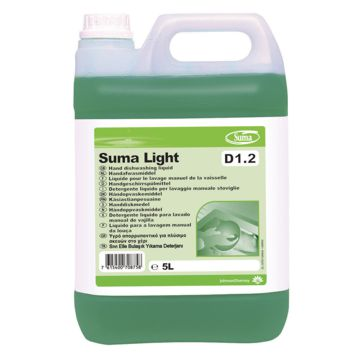 Hand dishwashing liquid detergent Suma Light D1.2 5L